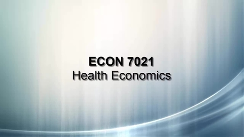 Thumbnail for entry ECON 7021 Banks Introduction