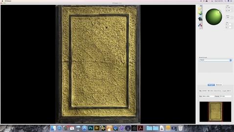 Thumbnail for entry RTI on Katib Khosru wa Shirin (Exterior Cover)