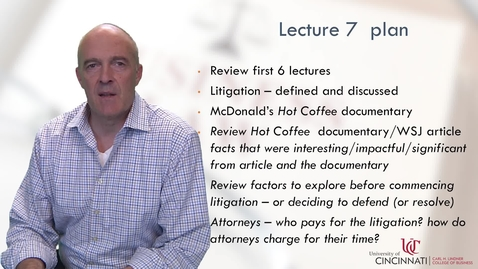Thumbnail for entry BLAW2080 Module 1 Lecture 7