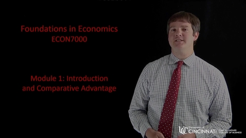 Thumbnail for entry Econ7000 Module 1 Introduction