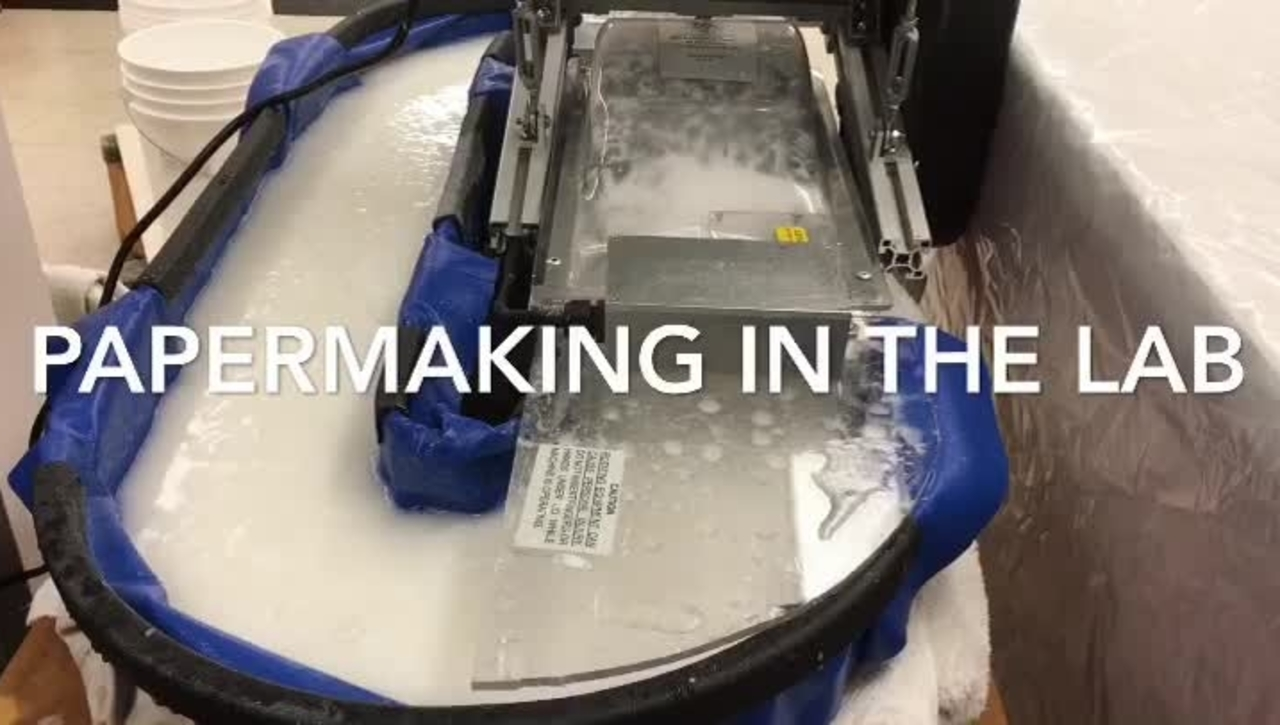 Papermaking In the Lab