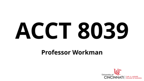 Thumbnail for entry ACCT 8039_Introduction To Course.mp4