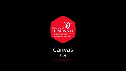 Thumbnail for entry Canvas Tips - Embed Kaltura Media with Text Editor