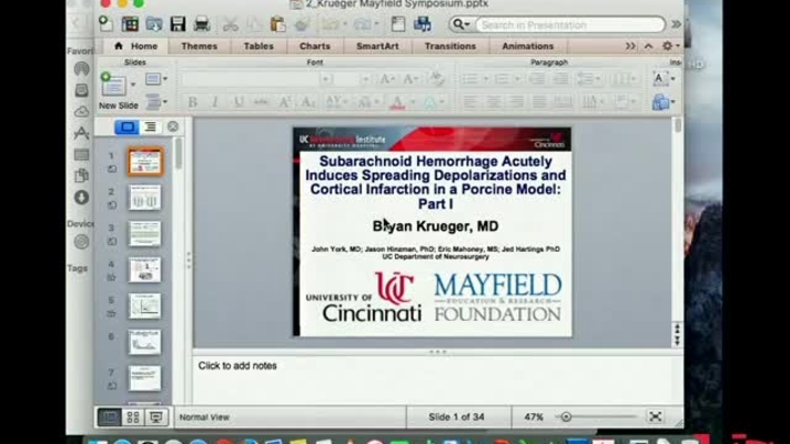 Thumbnail for channel 2016 Mayfield Neuroscience Symposium