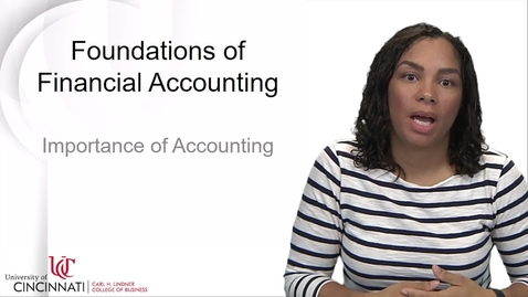 Thumbnail for entry ACCT2081 Foundations of Accounting - Importance of Accounting.mp4