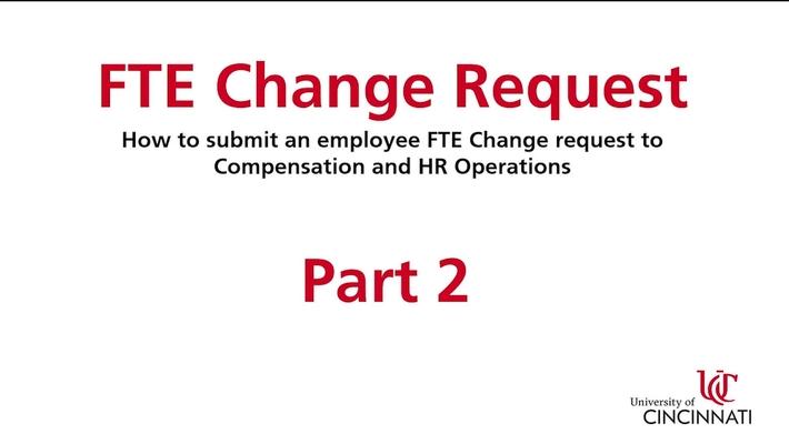 FTE Change Part 2