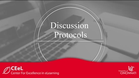 Thumbnail for entry Discussion Protocols