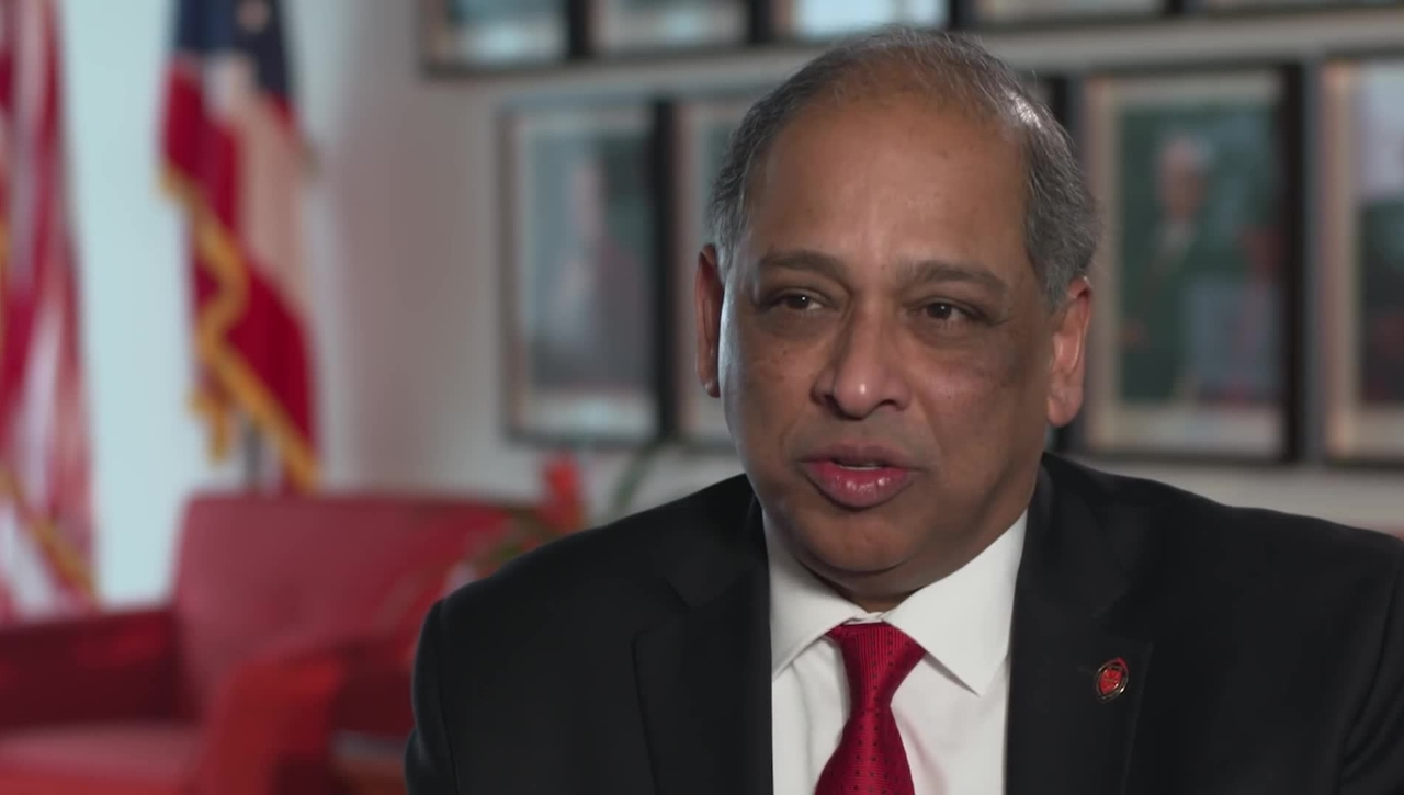 Neville G Pinto, 30th President, University of Cincinnati