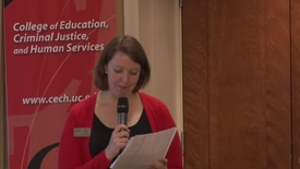 Thumbnail for entry CECH School of Education Joe King Alumni Presentation
