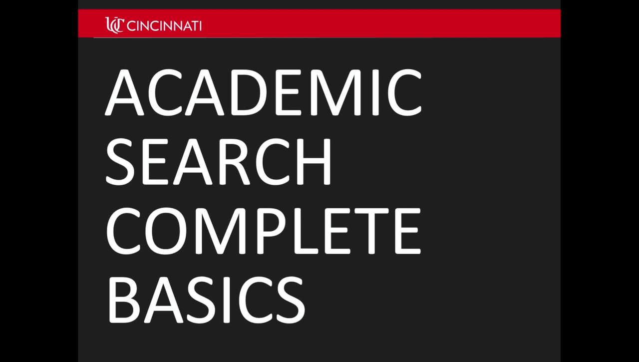 Academic Search Complete 2016