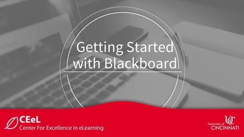 Thumbnail for entry Getting Started with Blackboard