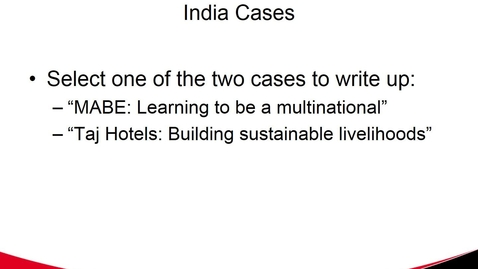 Thumbnail for entry India Cases
