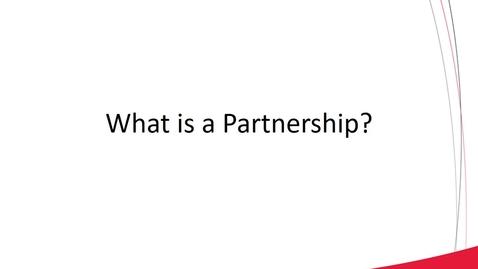 Thumbnail for entry ACCT 8030 L1-2 Basic Partnership Operations