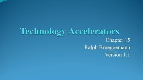 Thumbnail for entry ENTR 7082 Chapter 15 Technology Accelerators