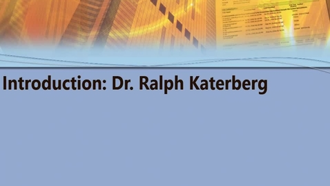 Thumbnail for entry MGMT 7014 Katerberg Introduction