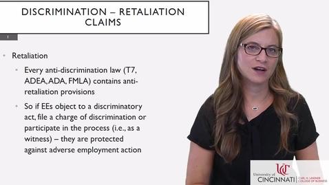 Thumbnail for entry BLAW2080_Discriminatino - Retaliation Claims