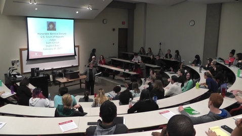 Thumbnail for entry Implicit Bias Lecture by Judge Bernice Donald