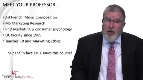 Thumbnail for entry MKTG7015 Professor Introduction