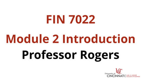 Thumbnail for entry FIN7022 Module 2