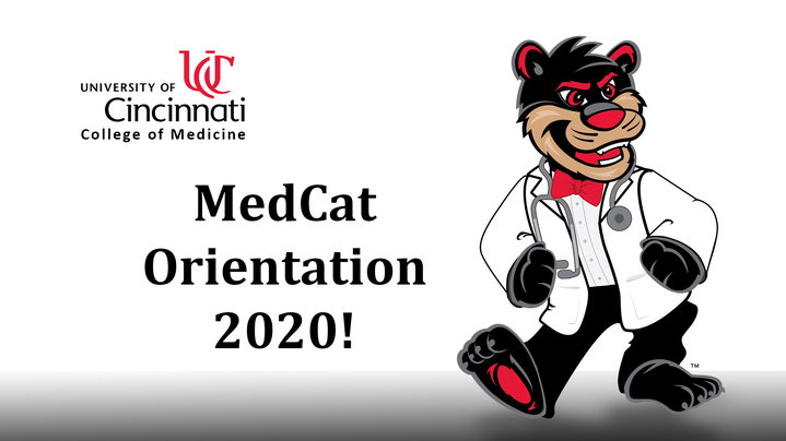 Thumbnail for channel MedCat Orientation 2020!