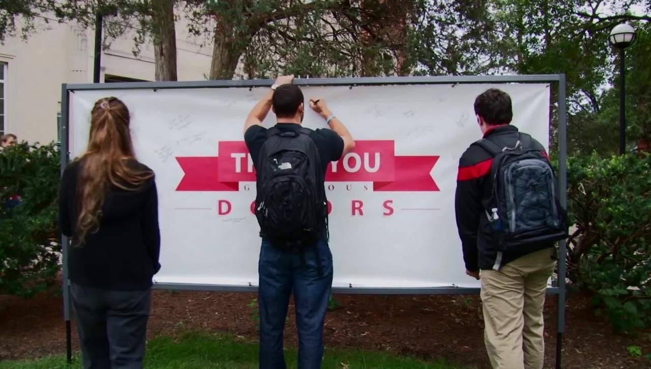 Thank You Donors! CECH BBQ 2014 Time-lapse