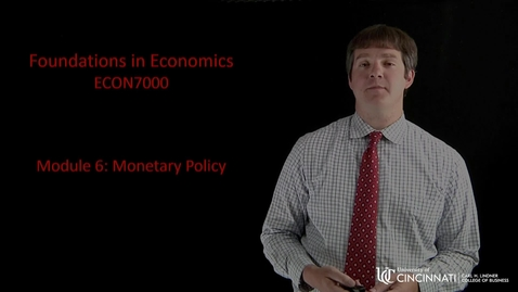 Thumbnail for entry Econ7000 Module 6 Introduction