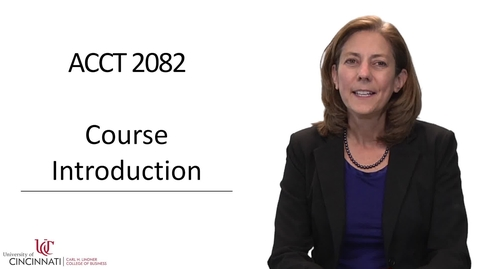 Thumbnail for entry ACCT2082 Course Introduction