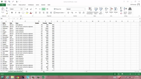 Thumbnail for entry Summarizing Categorical Data with Student Data