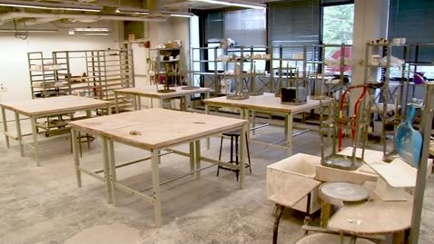 Thumbnail for entry Ceramics Lab