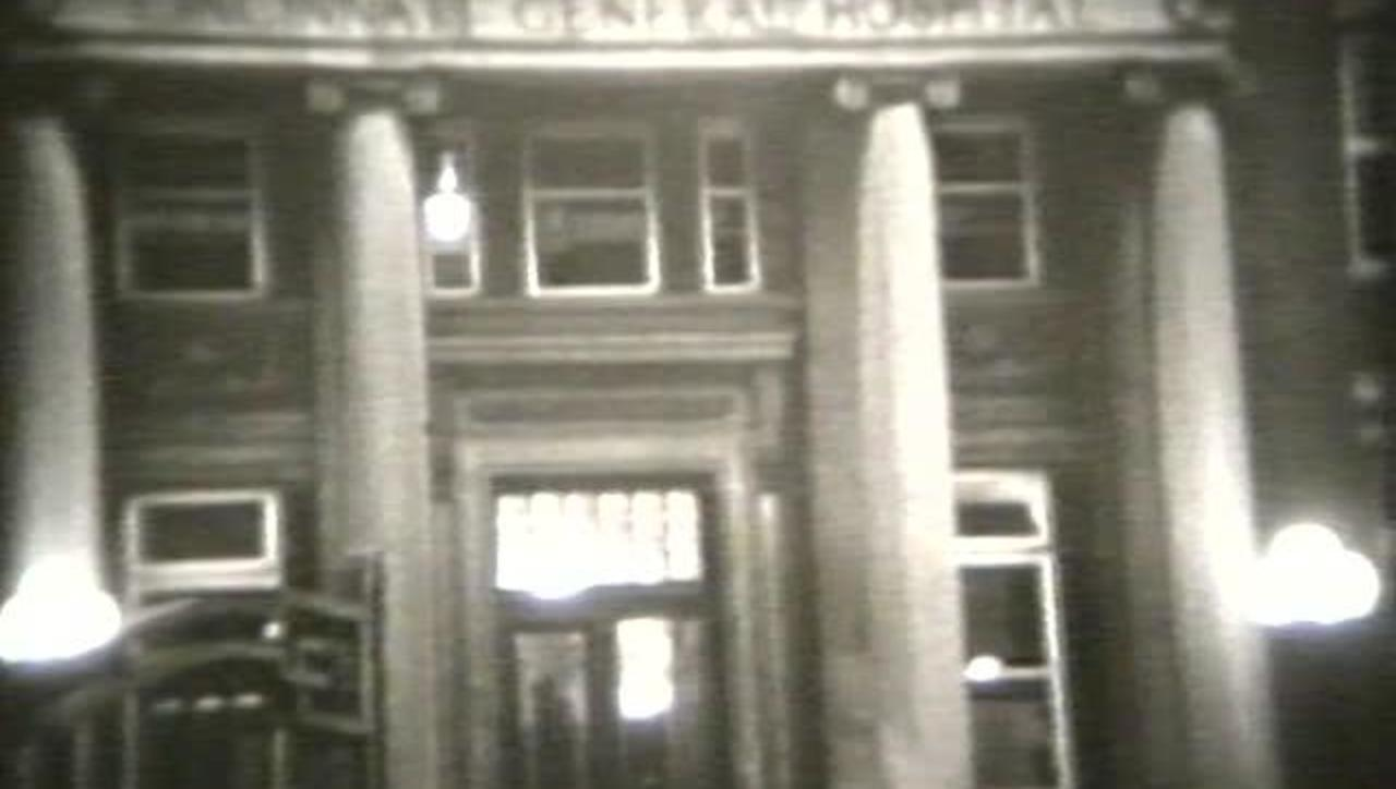 Film of Cincinnati General Hospital in 1937