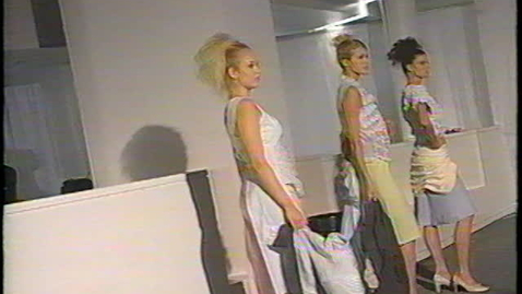 Thumbnail for entry 2002 Fashion Show