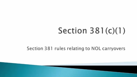 Thumbnail for entry Section 381