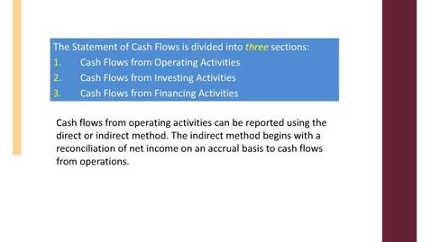 Thumbnail for entry ACCT7000_M8 L3 Statement of Cash Flowsrec
