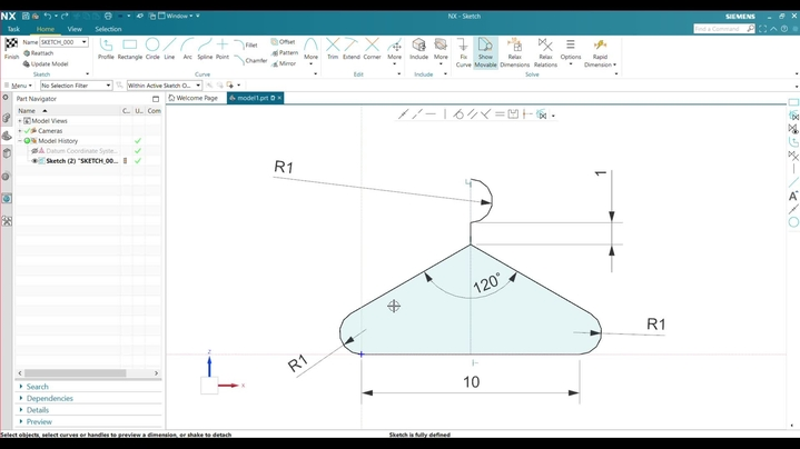 Thumbnail for channel Siemens CAD NX 1953 Dimensions and Relations