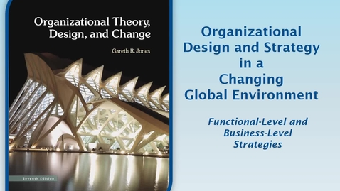 Thumbnail for entry MGMT7000 CH8-2 Functional-Level & Business-Level Strategies
