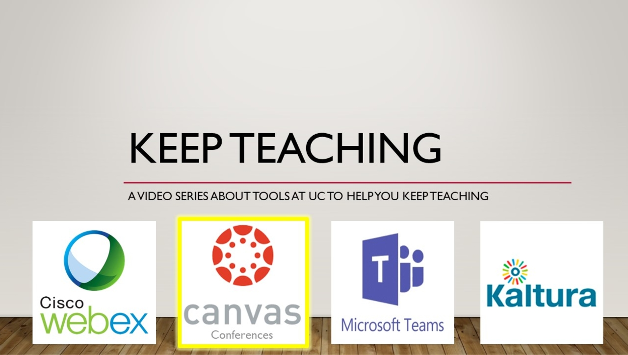 Keep Teaching - Canvas Conferences