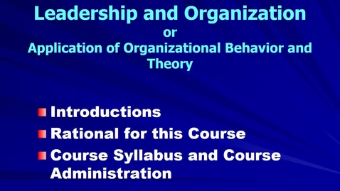 Thumbnail for entry MGMT 7014 Mgmt 7014 session 1 2016 revised on-line introductions narrated
