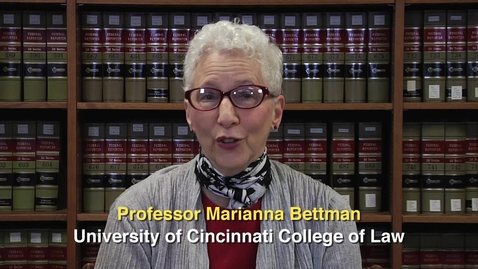 Thumbnail for entry Professor Marianna Bettman - Columbus Chapter American Constitution Society, September 25, 2015