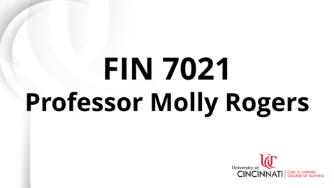 Thumbnail for entry FIN 7021 Professor Introduction