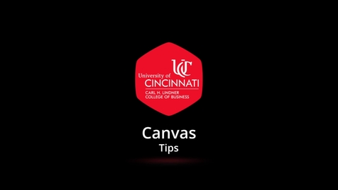 Thumbnail for entry Canvas-DealingWithCourseScheduleTables