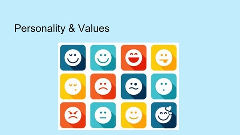 Thumbnail for entry MGMT 7014 Personality and values revised lecture.mp4