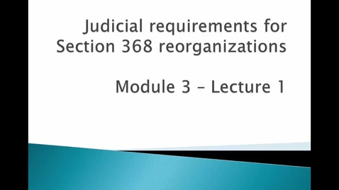 Thumbnail for entry Judicial Requirements