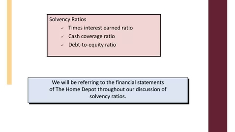 Thumbnail for entry ACCT7000_M12L6 Practice FS Analysis  Solvency Ratiosrec