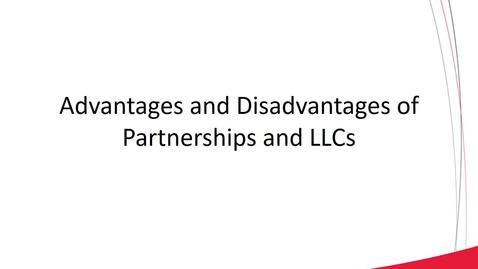 Thumbnail for entry ACCT 8030 L1-4 Basic Partnership Operations