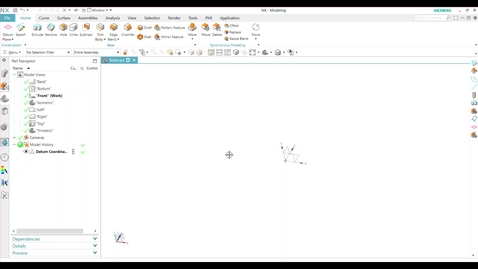 Thumbnail for entry Creating a 2D sketch (Video 2)