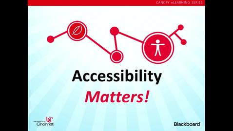 Thumbnail for entry Andy Jacobson - Blackboard and Accessibility ax_2014_presentation