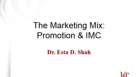Thumbnail for entry Integrated Marketing Communications