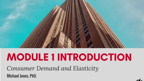 Thumbnail for entry Module 1 Introduction