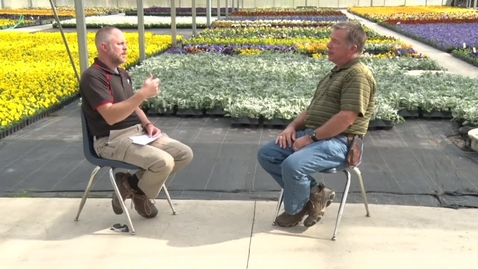 Thumbnail for entry Diefenbacher Greenhouses Interview with Elmer Grocer