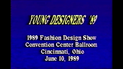 Thumbnail for entry 1989-06-10 Fashion Show